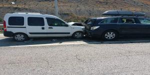 Zincirleme kaza: 9 yaralı