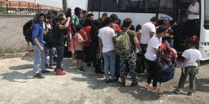 101 mülteci yakalandı