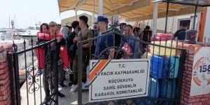 87 mülteci yakalandı