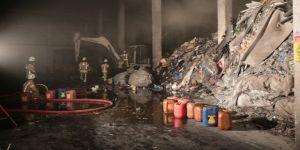 OSB'de korkutan yangın