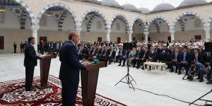 Erdoğan, İmam Serahsi Camii'nin açılışını yaptı