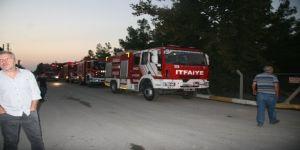 Denizli'deki depo yangını kontrol altına alındı