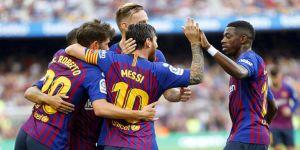 Barcelona'dan 8 gollü galibiyet