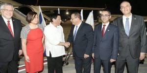 Duterte, İsrail'e geldi