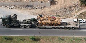 Suriye sınırına askeri sevkiyat ulaştı