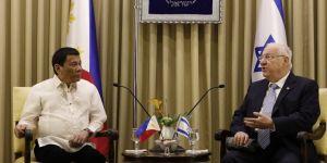 Duterte, Kudüs'te protesto edildi