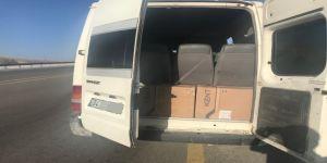 5 bin 500 paket kaçak sigara ele geçirildi