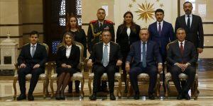 Erdoğan, KKTC Büyükelçisini kabul etti