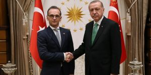 Erdoğan, Almanya Dışişleri Bakanı'nı kabul etti