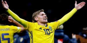Emil Forsberg, Türkiye maçında yok