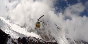 Himalayalar'da helikopter kayboldu