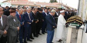 Sağlık Bakanı, arkadaşının cenazesine katıldı