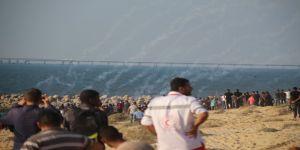 İsrail'in deniz ablukasını kırmak için denize açıldılar