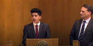 Filistinli mülteci çocuk, Arap Birliği'nden destek istedi