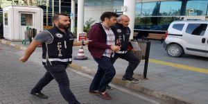 Yakalanan FETÖ zanlısı tutuklandı