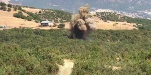 PKK'nın kullandığı 2 sığınak imha edildi