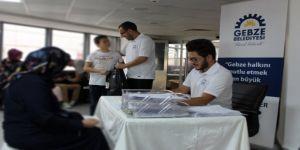 Gebze'de öğrencilere destek