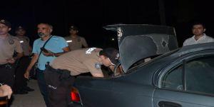 Alkol alanlara polis ve bekçilerden uygulama