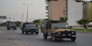 Sınıra askeri personel sevkiyatı sürüyor
