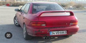 98 model Subaru`yu yenilediler! Sonuç inanlımaz...