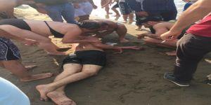 Kandıra'da 3 kişi boğulmaktan son anda kurtarıldı