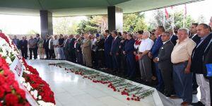 Menderes ve arkadaşları mezarları başında anıldı