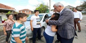 Başkan'a Gebze'de sıcak karşılama