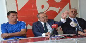 """Mustafa Bahçeci: """"Balıkesirspor- Ümraniyespor maçı kaldığı yerden tekrar oynanmalı"""""""