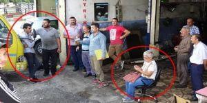 Kapkaççıyı oto tamircisi yakaladı