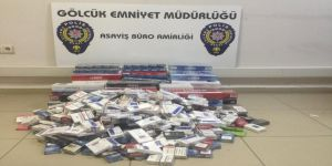 Kaçak sigara satan büfeye Kocaeli polisinden operasyon