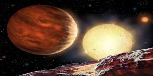 Hubble Teleskobu'yla öte gezegenin atmosferinde helyum tespit edildi