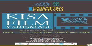 Hakkari'de ödülü kısa film yarışması başvuruları başladı