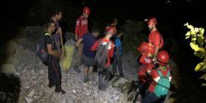 Dağ yürüyüşünde kaybolan grup kurtarıldı