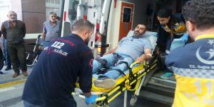 Yol verme kavgası kanlı bitti: 2 yaralı