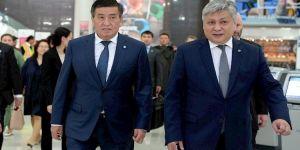 Kırgızistan Cumhurbaşkanı ABD'de