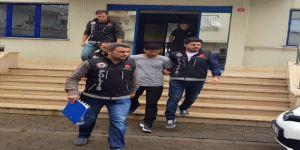 Trafik magandası tutuklandı