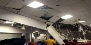 AVM'de tavan çöktü: 8 yaralı
