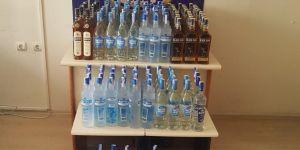 30 bin liralık kaçak içki ele geçirildi