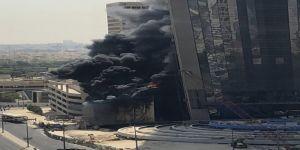 banka binasında yangın