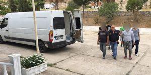 38 göçmen yakalandı