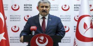 Destici'den sert 'HDP' çıkışı