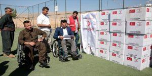 Türk Kızılayından Irak'taki engellilere yardım