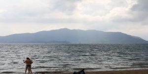 Fırtına öncesi deniz keyfi