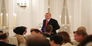 """Cumhurbaşkanı Erdoğan: """"Teröristler Almanya'da elini kolunu sallayarak dolaşmaktadır"""""""