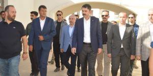 Bakan Kurum, Nusaybin'de incelemelerde bulundu