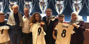 Real Madrid'den Filistin'in cesur kızına jest
