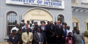 Türkiye'den Gambiya polisine eğitim desteği
