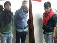 Kadın kılığındaki 5 terörist yakalandı!