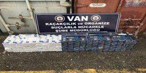 3 bin 440 paket kaçak sigara ele geçirildi