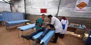 İsrail, Gazze'de sağlık çadırını vurdu